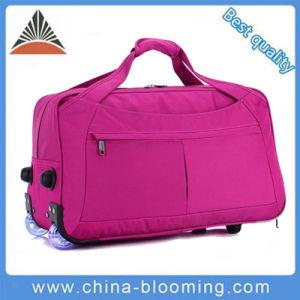 Waterproof Weekend Rolling Trolley Luggage Travel Duffle Suitcase Bag pictures & photos