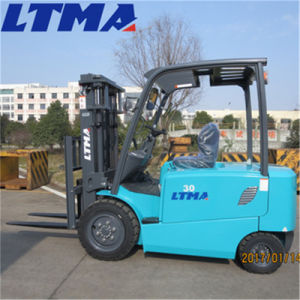 Ltma Small Electric Forklift 3 Ton Battery Forklift for Sale pictures & photos