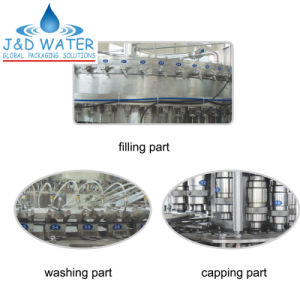 Automatic Carbonated Bottle Beverage Filling Line pictures & photos
