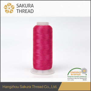 Sakura Rayon Emobroidery Thread for Decorative Tassel with Oeko-Tex 100 pictures & photos