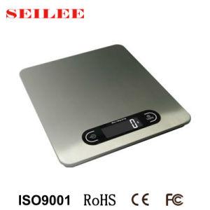 10kg Big Platform S/S Backlit Digital Kitchen Scale pictures & photos