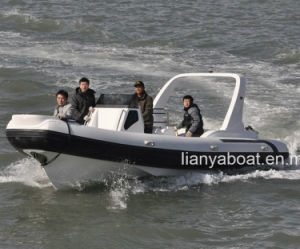 Liya 7.5m Rib Hypalon Inflatable Boat Rhib pictures & photos
