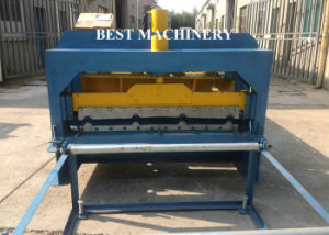 Hydraulic Cuttng Step Roof Tile Glazed Tile Roll Forming Machinery pictures & photos