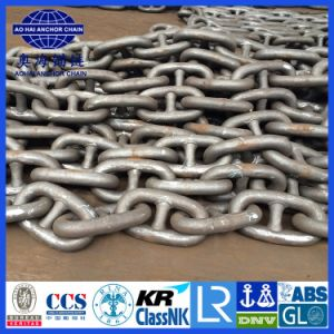 Offshore Stud and Studless Marine Ship Anchor Chain with CCS, ABS, Lr, Gl, Dnv, Nk, BV, Kr, Rina, RS pictures & photos