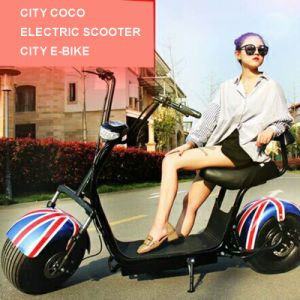 Factory Price Fat Tire Electric Scooter 1000W City Coco pictures & photos