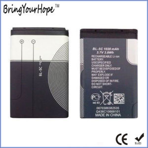 700mAh Bl-5c Rechargeable Li-ion Battery for Speaker & Toy (BL-5C-700) pictures & photos