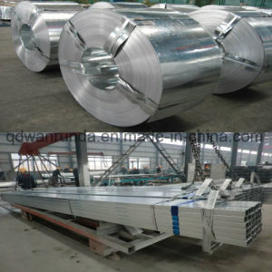 80X80mm Galvanized Steel Tube Use for Steel Structure pictures & photos