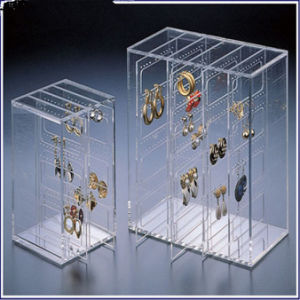 New Design Low Acrylic Price Jewelry Box with 5 Drawers pictures & photos