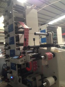 Flexographic Printing Machine 6 Color with 2 UV pictures & photos