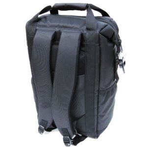 Travel Hiking Black Aluminum Lining Picnic Backpack Lunch Bag Cooler pictures & photos