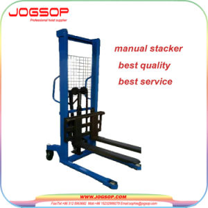 1 to 1.5t Manual Pallet Stacker and Easy Lifting pictures & photos