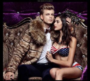 Winter Faux Fox Fur Coat for Men Fur Coat pictures & photos