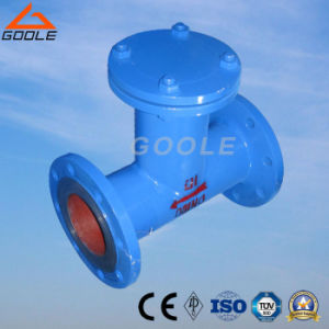Goole Fabricated Carbon Steel Flanged T Type Strainer pictures & photos