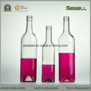 China Glass Bottle, 750ml Wine Glass Bottle in Flint Color (NA-005) pictures & photos