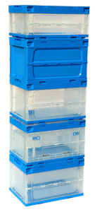 Transparent Plastic Storage Containers with Side Open Door pictures & photos