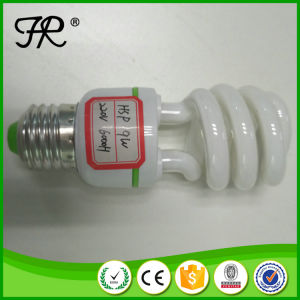 Half Spiral 9W 6000h CFL Light Bulb with Factory Price pictures & photos
