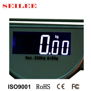 200kg Capacity Digital Clear Glass Health Weight Scale pictures & photos