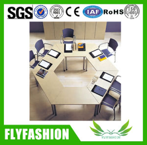 Multi-Function Training Furniture Folding Desk for Wholesale (SF-06F) pictures & photos