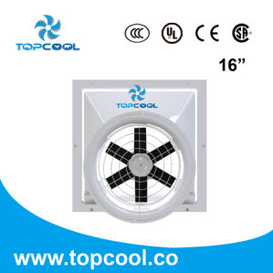 "High Quality Gfrp 16"" Poultry Equipment Agricultural Greenhouse Ventilation Fan pictures & photos"