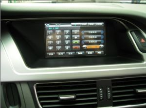 Car Audio for Audi A4 (after 2009) Audi A5 Audi Q5 with GPS Bt Radio (TID-7460)
