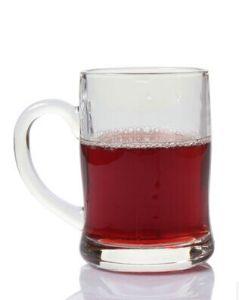 400ml Big Plain Glass Beer Cup, Clear Glass Mug