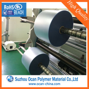 120 Micron Thickness Matte Transparent PVC Rigid Film Roll for Printing pictures & photos
