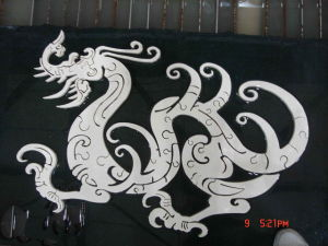 Marble Design Cutting By Water jet Machine pictures & photos