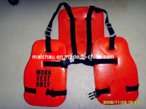 Oil Platform PVC TPU Offshore Light Weight Work Vest pictures & photos