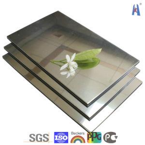 Guangzhou Manufacturer PE Aluminum/Aluminium Composite Panel/PVDF Aluminum Composite Panels pictures & photos