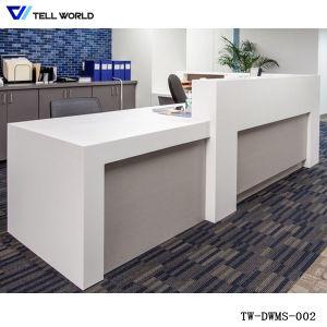 LED Lighting Transparent Reception Desk pictures & photos