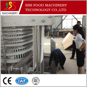 Spiral Quick Food Freezer with CAS Function (1000Kg/H Type) pictures & photos