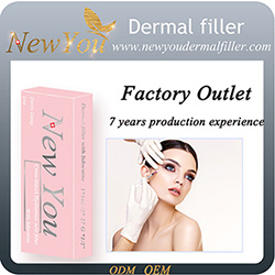 Factory Outlets Sodium Hyaluronic Acid Filler with Lidocaine pictures & photos