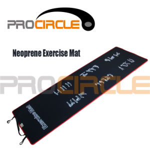 Fitness Equipment High Quality Neoprene Exercise Mat (PC-EM1013) pictures & photos