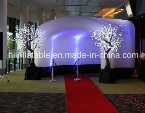 Inflatable Lighting Tent, Advertising Inflatable Tent, Cube Party Tent,