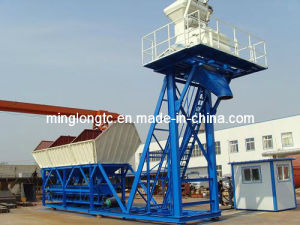 Movable HZS25 Mini Batching Plant pictures & photos