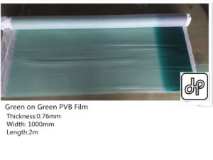 0.76mm Green on Green PVB for Windsheild Glass pictures & photos