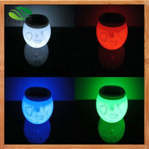 LED Night Light Decoration Solar Lamp pictures & photos