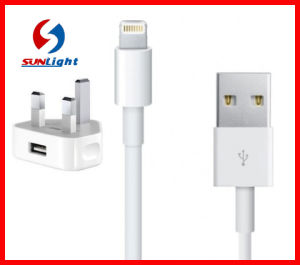 UK 5V 2.1A USB Charger Adapter for iPhone6/6s pictures & photos