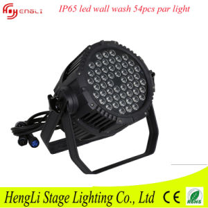 LED PAR 54PCS 3watt RGBW Waterproof pictures & photos