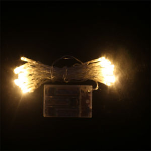 4m 30 Bulbs Christmas LED Battery String Light for Festival Decoration