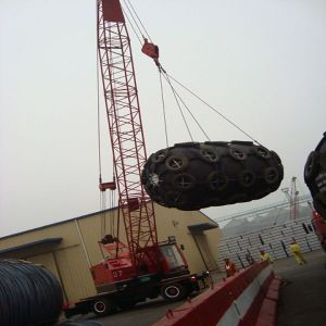 Ship Rubber Fender Used for Dock pictures & photos
