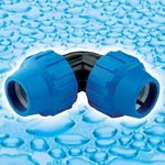 PP Compression Fittings for Water Supply pictures & photos
