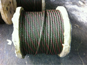 6*37+FC Steel Wire Rope pictures & photos
