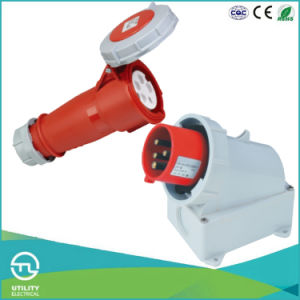 IP67 Waterproofing Male Plug for Industrial Plug Socket Electrical Connector pictures & photos