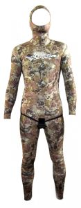 5mm Camouflage Spearfishing Smooth Skin Wetsuit