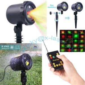 Outdoor 8 Patterns Firework Lights Use Indoor and Outdoor Waterproof to Yard Home Decoration pictures & photos