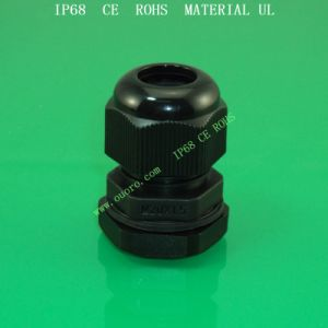 Nylon Cable Gland M Series, Plastic, Waterproof, Dustproof, IP68, CE, RoHS