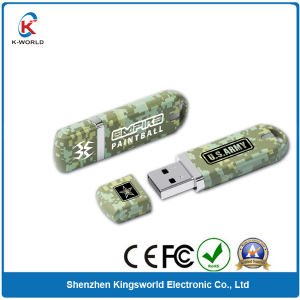 Water Transfer Printing Plastic 8GB USB Flash Drive (KW-0363) pictures & photos
