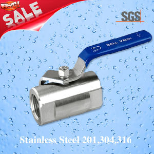 1PC Female Threaded Ball Valve, Stainless Steel 201, 304, 316 Valve, Q11f Ball Valve pictures & photos