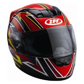Full Face Helmet (DP8011-RED)